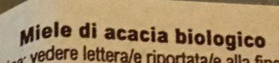 Miel d'Acacia - Ingredientes