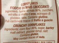 Corn flakes - Ingredients - fr
