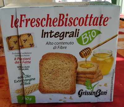 LeFrescheBiscottate integrali - Product