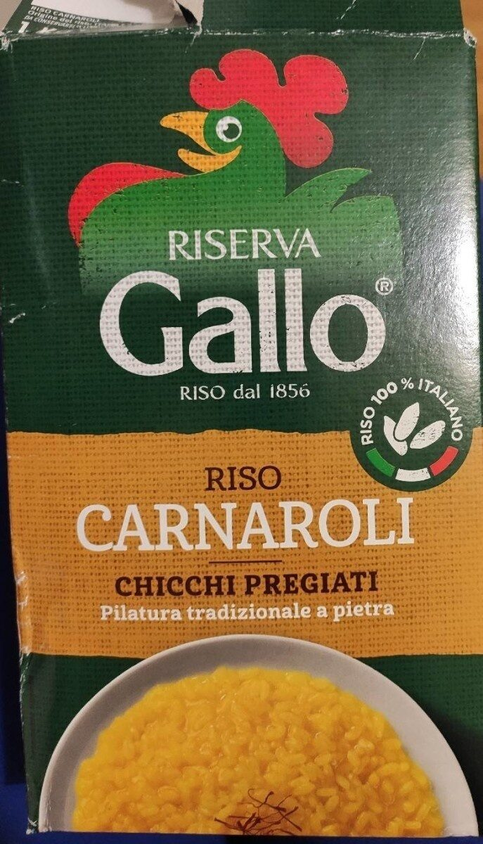 Riso Carnaroli Gallo - Product - en