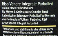 riso Venere integrale - Ingrediënten - it