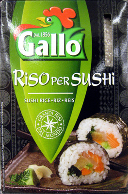 Riso per Sushi Gallo - Product - fr