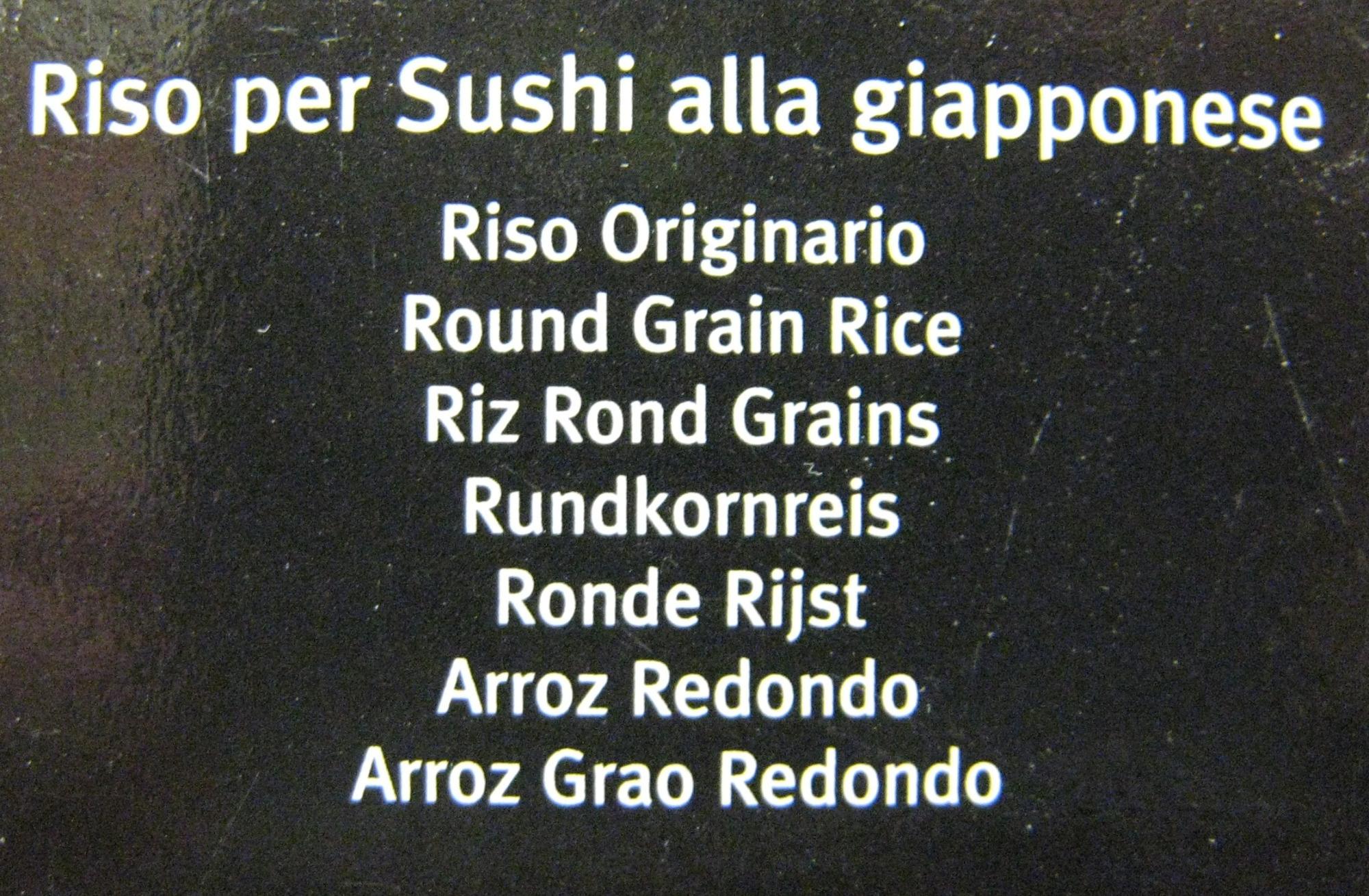 Riso per Sushi Gallo - Ingrediënten