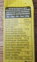Risotto pronto aux cèpes RISO GALLO, boîte - Informations nutritionnelles - fr