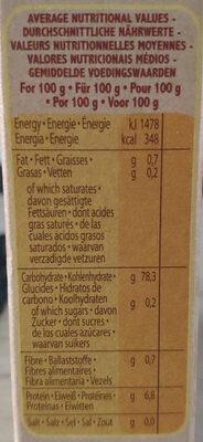 Gallo Organic Arborio Risotto Rice - Informations nutritionnelles - fr