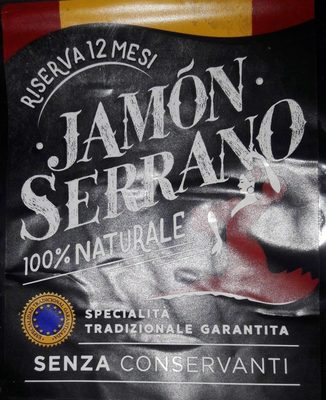 Jamon Serrano 100% naturale - Produit