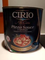 Pizza sauce cuisinee - Produit