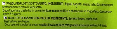 Borlotti Italiani - Ingrédients - it