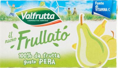 IL NUOVO FRULLATO 100% FRUTTA GUSTO PERA VALFRUTTA - Produit - it