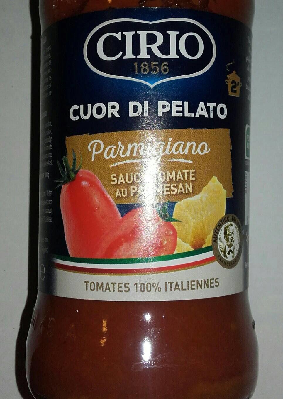 Sauce tomate au parmesan - Produit