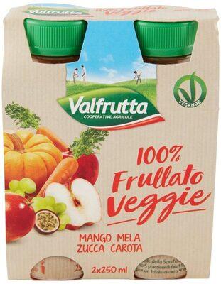 100% Frullato Veggie Mango Mela Zucca Carota - Product