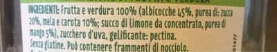 100% veggie - Nutrition facts - fr