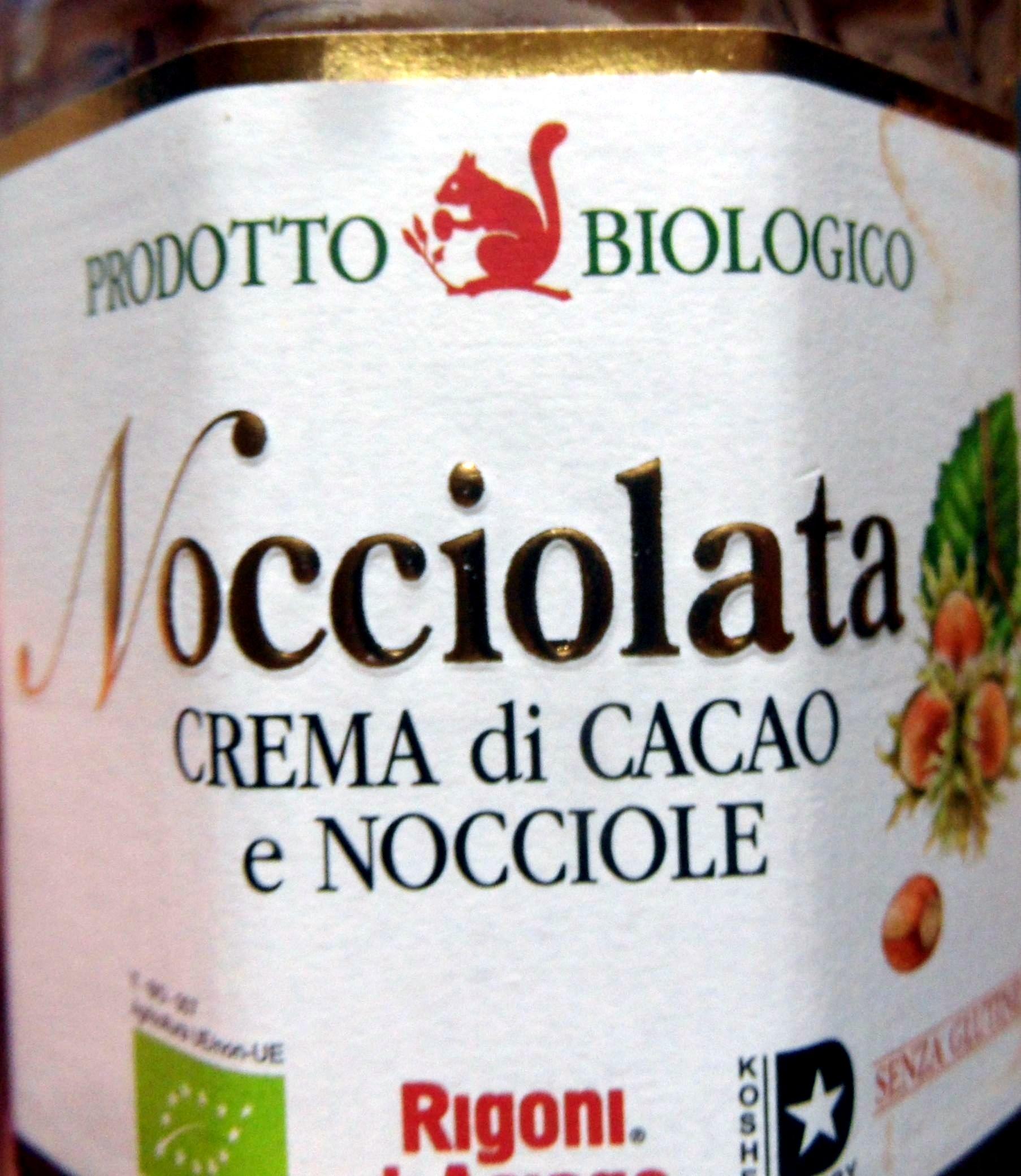 Rigoni Nocciolata crema di cacao e nocciole Prodotto biologico - Product - it