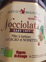 Nocciolata sans lait - Продукт
