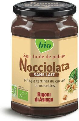 Nocciolata sans lait pâte à tartiner bio - Produit - fr