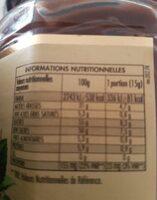 Nocciolata sans lait pâte à tartiner bio - Informations nutritionnelles - fr