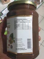 Nocciolata - Información nutricional