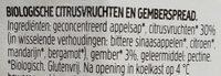 Fiordifrutta agrumes et gingembre - Ingrediënten - nl