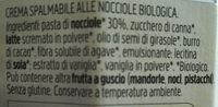 Nocciolata bianca - Ingredienti - it