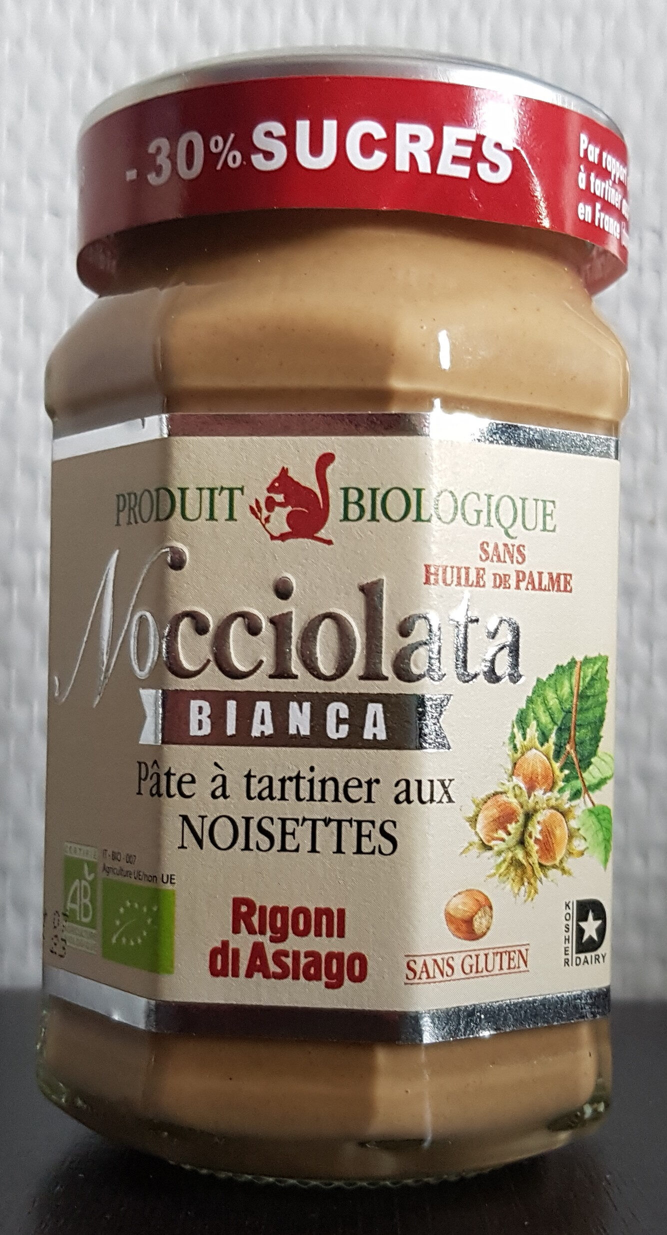 Nocciolata bianca - Product - fr