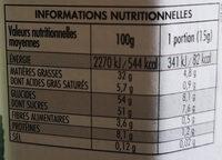nocciolata bio - Voedingswaarden - fr