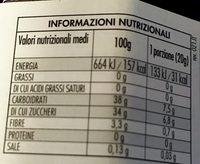 Fiordifrutta Frutti di bosco - Informazioni nutrizionali