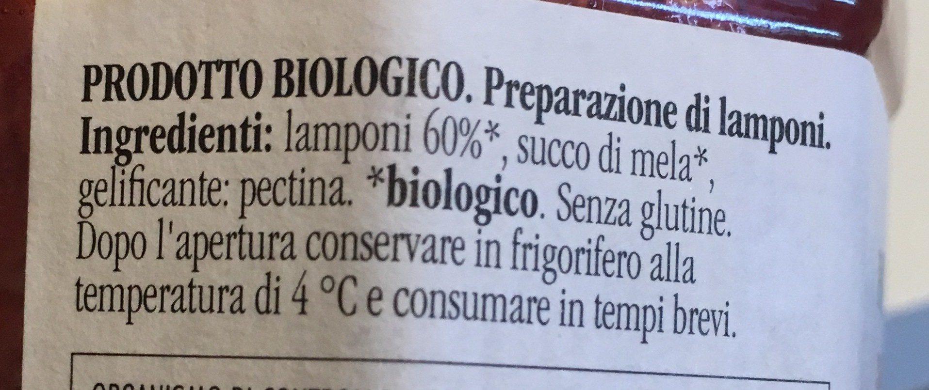 Lamponi - Ingrediënten - it