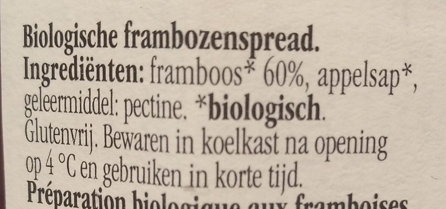 Fiordifrutta framboise - Ingrediënten - nl