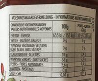 FiordiFrutta fraises-fraises des bois - Informations nutritionnelles - fr