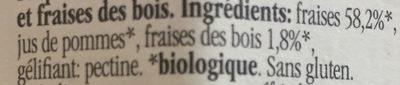 Fiordifrutta - Fraises des Bois - Ingredienti - fr