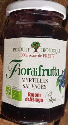 Fiordifrutta Confiture Myrtilles Sauvages Bio - Produkt