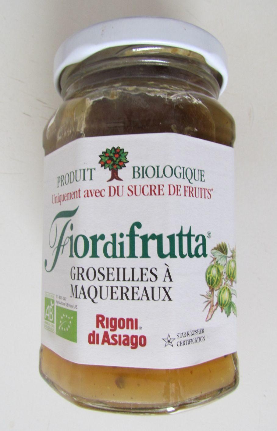 Fior di Frutta Groseilles à Maquereaux - Produit