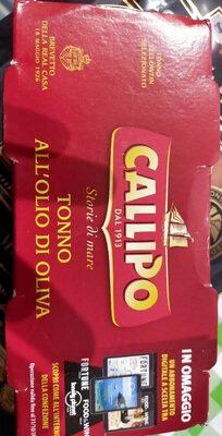 Thon à L'huile D'olive Callipo 6x2x160gr, 12 Boîtes - Prodotto - fr