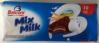 Mix Milk with Velvety Milk Cream Filling x (350g) - Product - fr