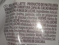 Rollino Latte - Zutaten - de