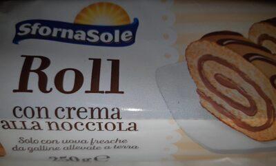Roll con crema alla nocciola - Produit - en