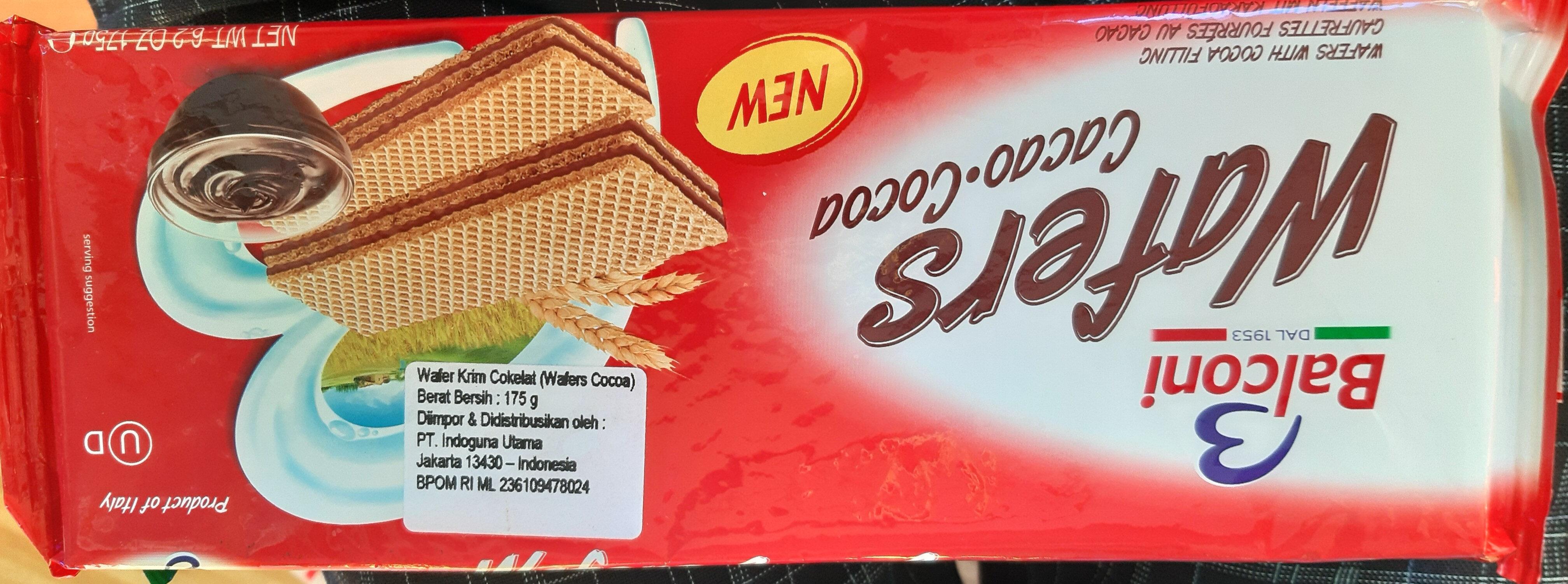 Balconi Wafers Cacao - Produit