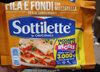 Sottilette Fila e Fondi alla Mozzarella - Produit