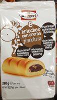Brioches con crema gianduia - Product - fr