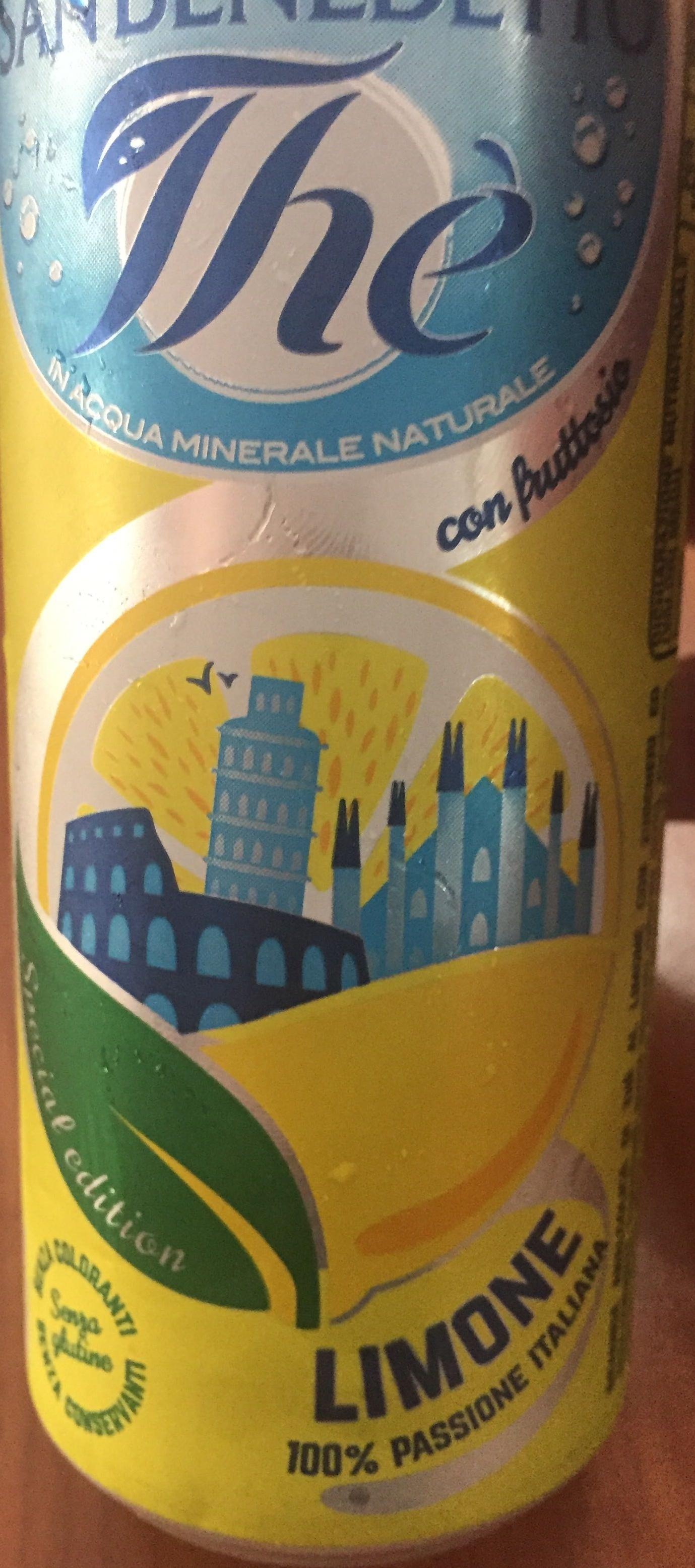 Thé Limone - Prodotto