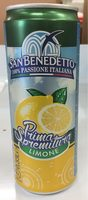 San benedetto, prima spremitura, low-calorie sparkling drink, limone - Product - en