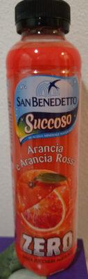 San Benedetto Succoso Zero arancia e arancia rossa - Prodotto - it