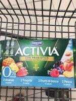 Activia 0,1% Frutta X8 Danone - Prodotto - it