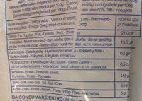 Mozzarella Di Buffala - Voedingswaarden - fr