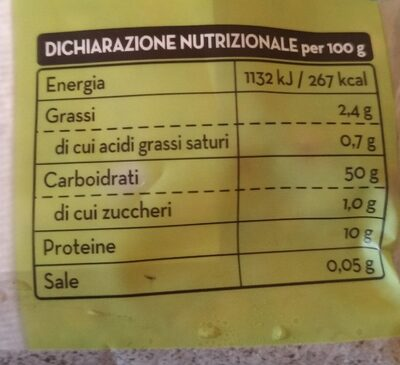 Sfogliavelo lasagne fresche all'uovo - Voedingswaarden - fr
