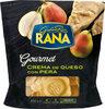 Gourmet ravioli relleno de crema de queso con pera - Product
