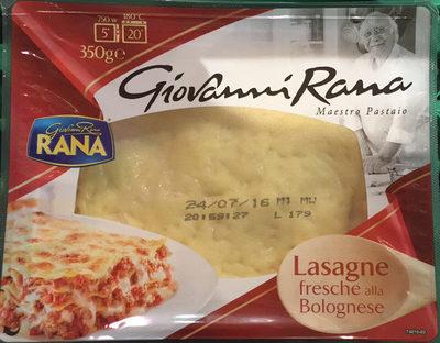 Lasagnes à la bolognaise - Prodotto - fr
