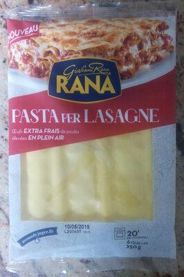 Pasta Per Lasagne - Product
