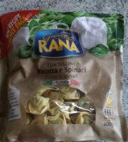 Rana Tortellini Ricotta & Spinach 400G - Product - fr