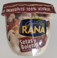 Salsa fresca de setas y boletus - Producte